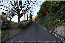 SX9364 : Anstay's Cove Road off Ilsham Road, Torquay by Ian S