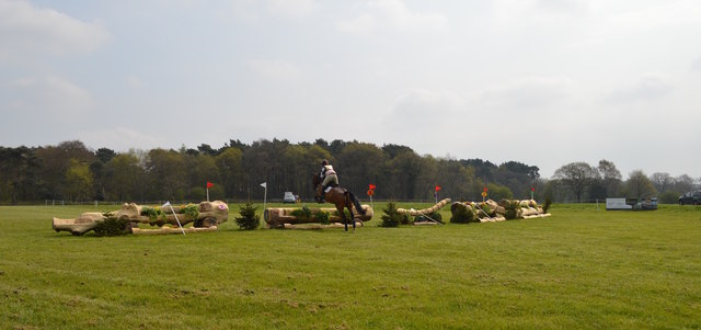 Kelsall Hill Horse Trials: cross-country fence 2