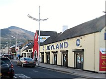 J3731 : Joyland Amusements on Main Street, Newcastle by Eric Jones