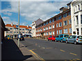 TV4899 : Flats at the north end of Pelham Road, Seaford by Robin Stott