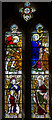 SO5928 : Stained glass window, St Mary's church, Foy by Julian P Guffogg