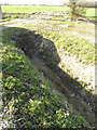 TM3666 : Newly dug ditch & drain off Kelsale Road by Geographer