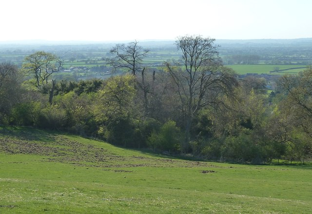 Cymbeline's Castle - from flank of Beacon Hill