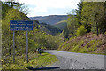 SH8010 : Steep hill on hill road by Nigel Brown
