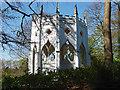 TQ0960 : Gothic folly, Painshill Park by Alan Hunt