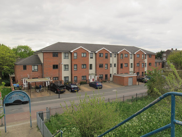 Sewell Road - new housing