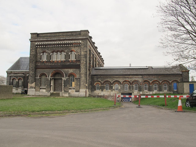 Main building at Crossness