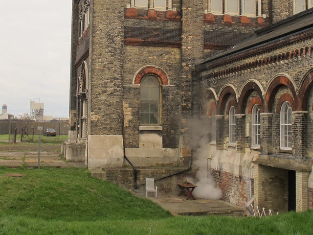 Steam at Crossness