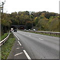 SO5011 : Gibraltar Tunnels, Over Monnow, Monmouth by Jaggery
