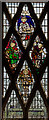 SO5932 : Stained glass window, All Saints' church, Brockhampton by Julian P Guffogg