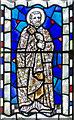 SO5932 : Detail, east window, All Saints' church, Brockhampton by Julian P Guffogg
