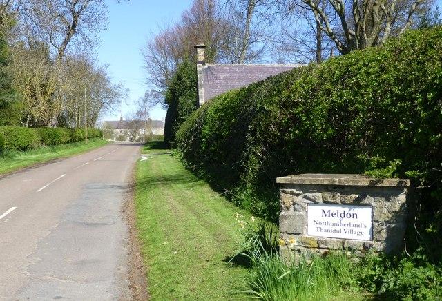 Meldon Northumberland's Thankful Village