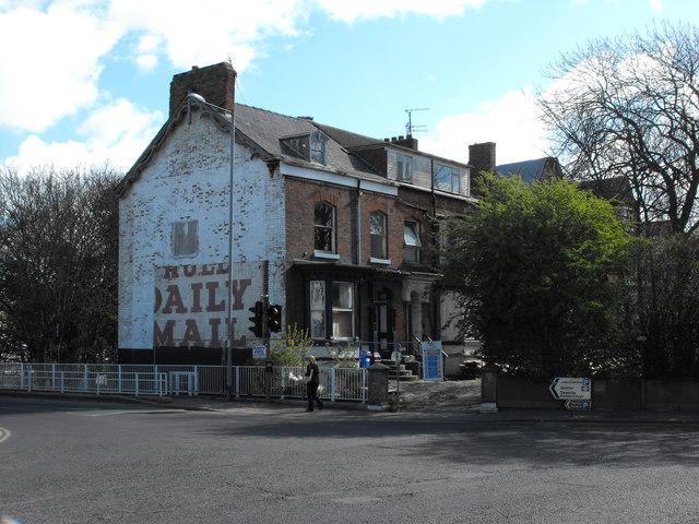 Houses being demolished on Hilderthorpe Road