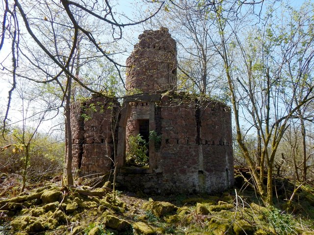 Ruins of Ardmore Observatory