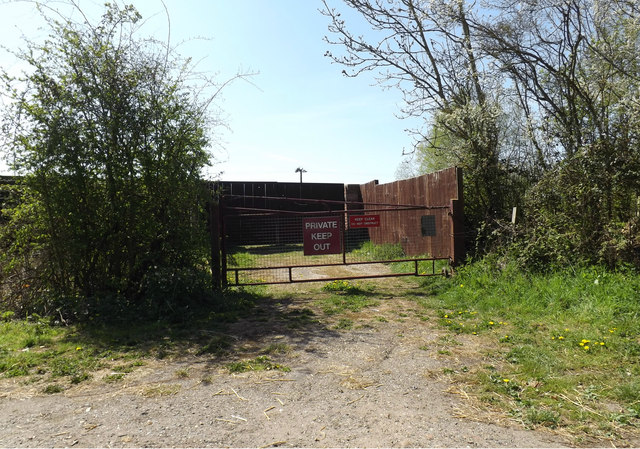 Entrance off the B1117 Vicarage Road