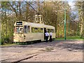 SD8303 : English Electric Railcoach at Heaton Park Lakeside Terminus by David Dixon