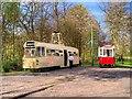 SD8303 : Heaton Park Tramway, Lakeside Terminus by David Dixon