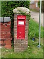 SK7227 : East End Long Clawson postbox ref LE14 38 by Alan Murray-Rust