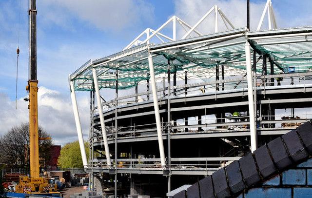 New stands, Windsor Park, Belfast - April 2015(3)