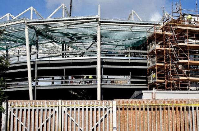New stands, Windsor Park, Belfast - April 2015(4)