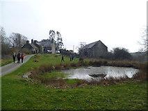 SH6129 : On the Taith Ardudwy Way near Dinas camp site by Jeremy Bolwell