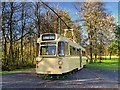 SD8303 : English Electric Railcoach, Heaton Park Tramway by David Dixon