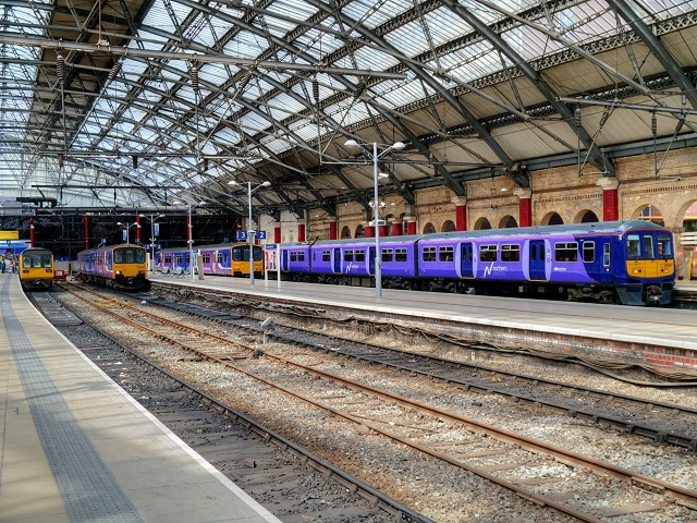 Liverpool Lime Street Station, Platforms 1 to 4