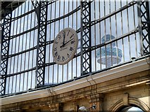 SJ3590 : Liverpool Lime Street Station Clock by David Dixon