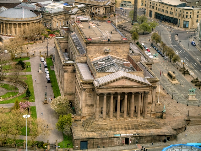 View from St John's Beacon - St George's Hall