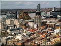 SJ3490 : View from St John's Beacon towards Beetham Tower West by David Dixon