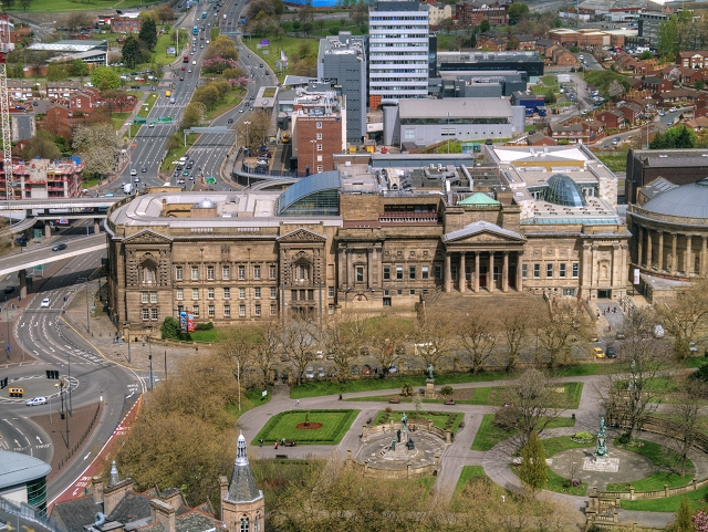 View from St John's Beacon - The World Museum Liverpool