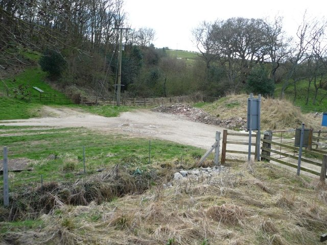 Track from Hagg House to the River Esk