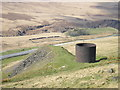 SE0310 : Ventilation shaft and spoil heap by John Illingworth