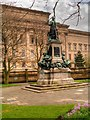 SJ3490 : Gladstone Memorial, St John's Gardens by David Dixon
