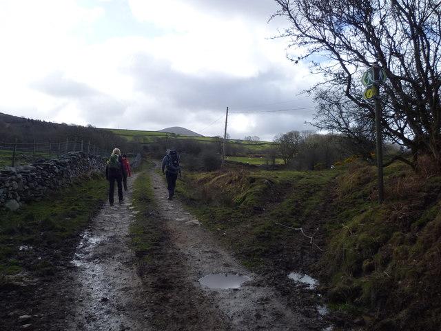 On the Taith Ardudwy Way
