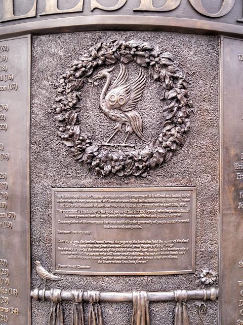 Hillsborough Memorial (detail)