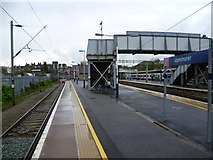 TQ5686 : Bay platform at Upminster station by Marathon