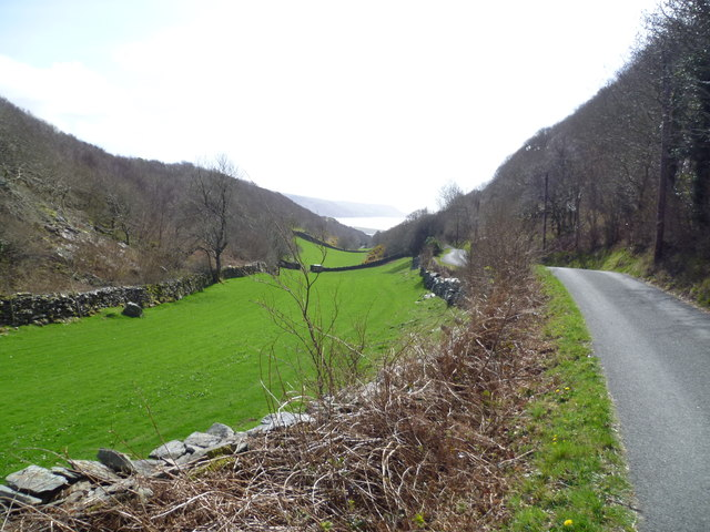 Sheltered valley near Barmouth