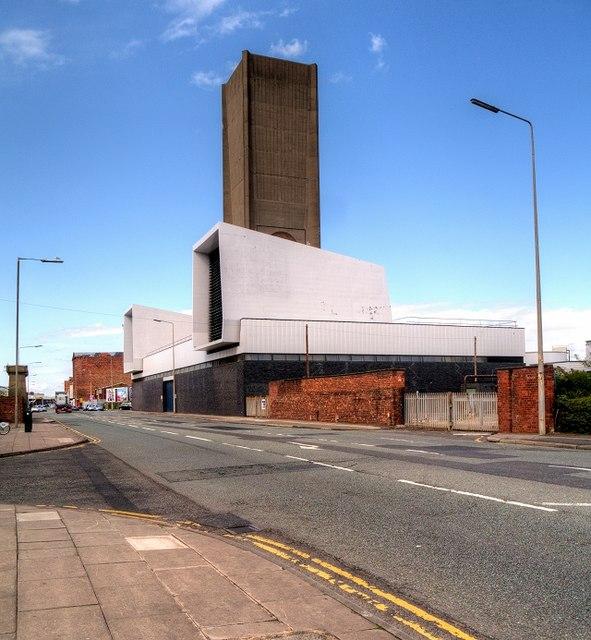 Mersey Tunnel Ventilation Shaft, Waterloo Road, Liverpool