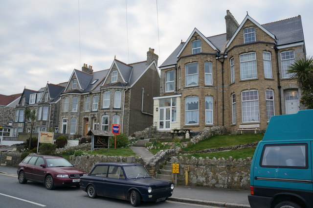 Hotels on Mount Wise, Newquay