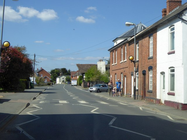 Pedestrian crossing, Bridge Street, Leominster