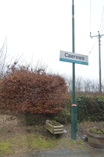 Caersws Station