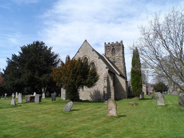 St Laurence's church, Walton on Trent