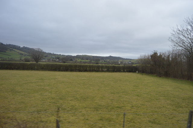 Field between the Cambrian line and A470