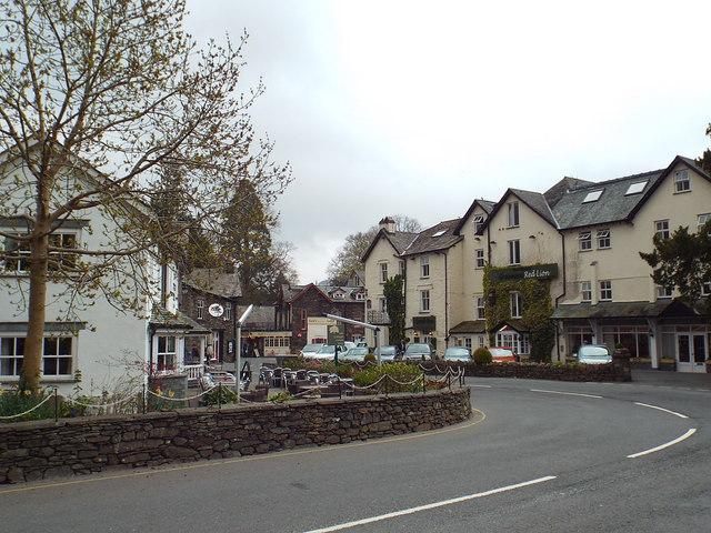 Grasmere village