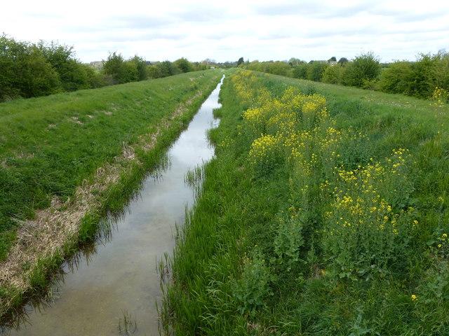 Greatford Cut east of Barholm, Lincolnshire