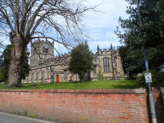 St James' church, Barton Under Needwood