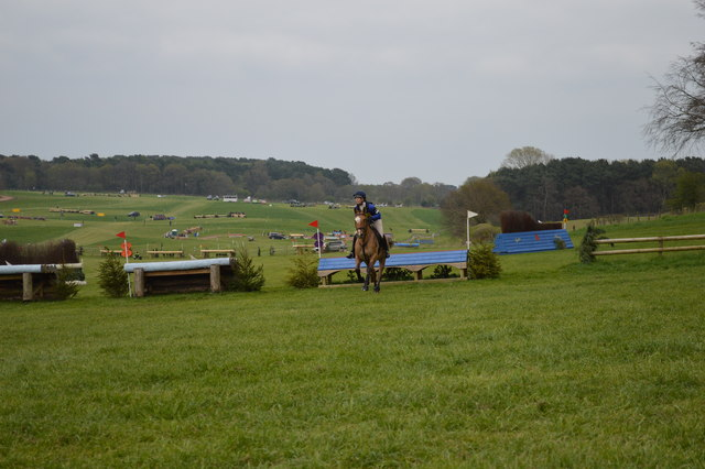 Kelsall Hill Horse Trials: cross-country fence 9a