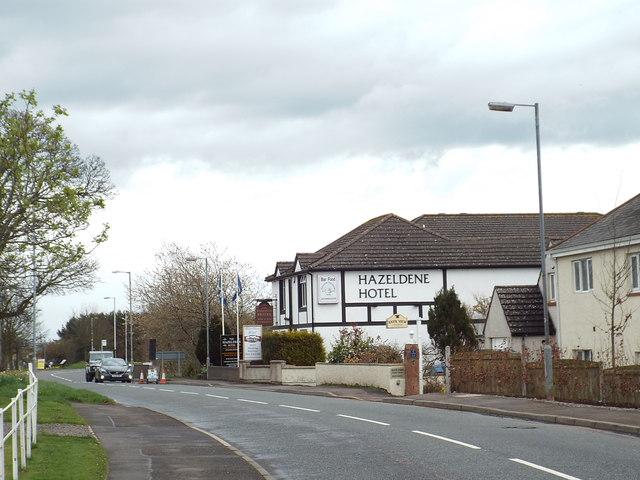 B7076 road, Gretna Green
