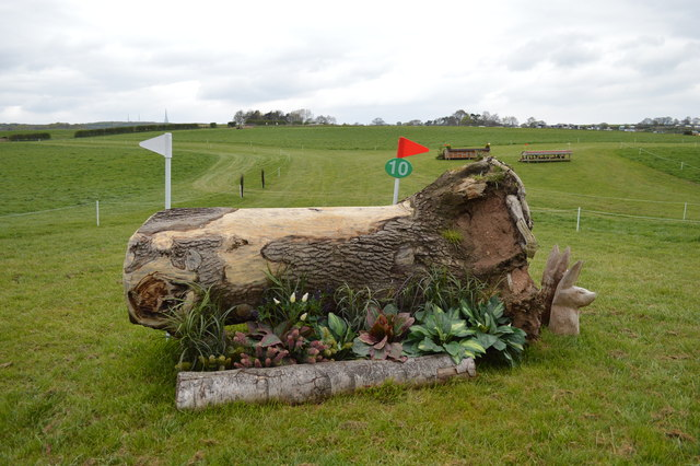 Kelsall Hill Horse Trials: cross-country fence 10 (Intermediate)